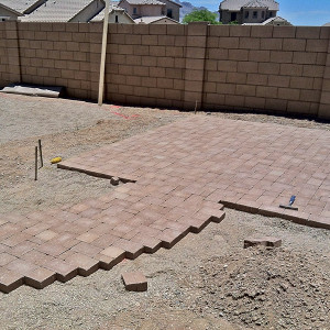Oro Valley Paver Installation