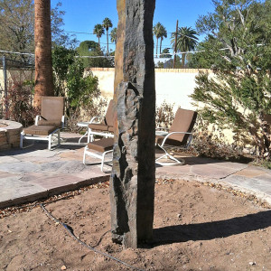 Decorative Rock Column
