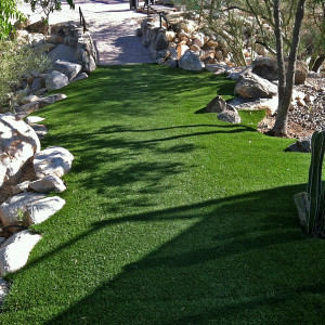 Turf Pathway through Oro Valley Desert